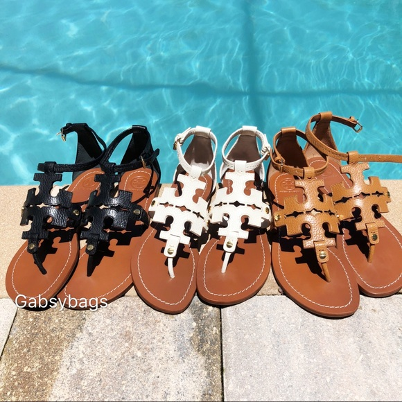 3b407f446af09 Tory Burch Phoebe Flat Thong Sandals Boutique